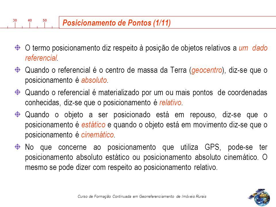 Posicionamento de Pontos (1/11)