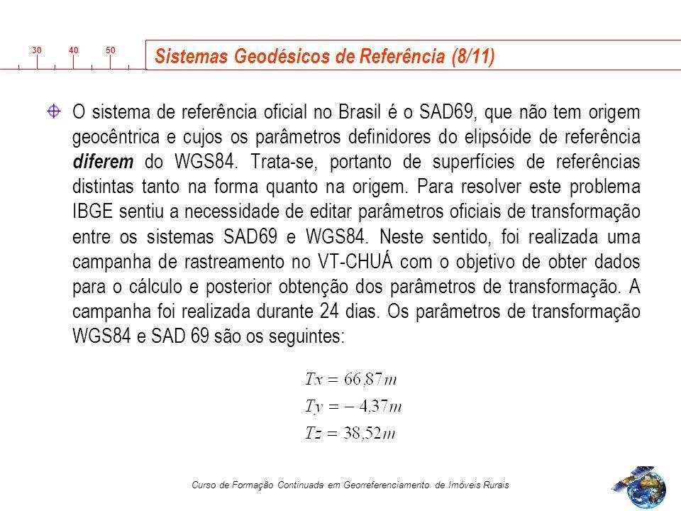 Sistemas Geodésicos de Referência (8/11)
