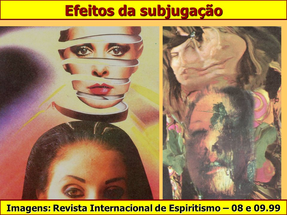 Imagens: Revista Internacional de Espiritismo – 08 e 09.99
