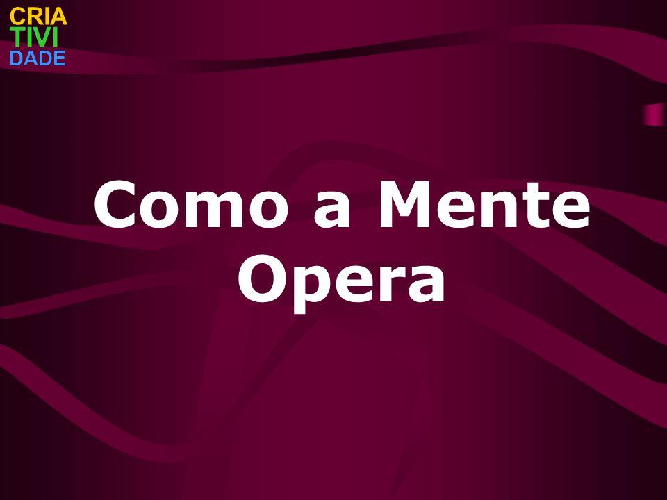 CRIA TIVI DADE Como a Mente Opera
