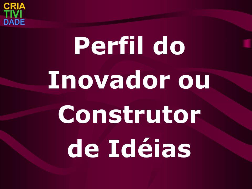 Perfil do Inovador ou Construtor