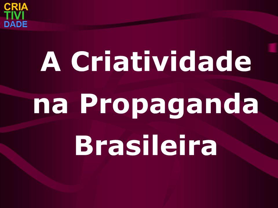 A Criatividade na Propaganda Brasileira