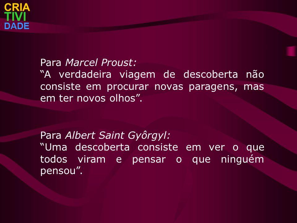 TIVI CRIA Para Marcel Proust: