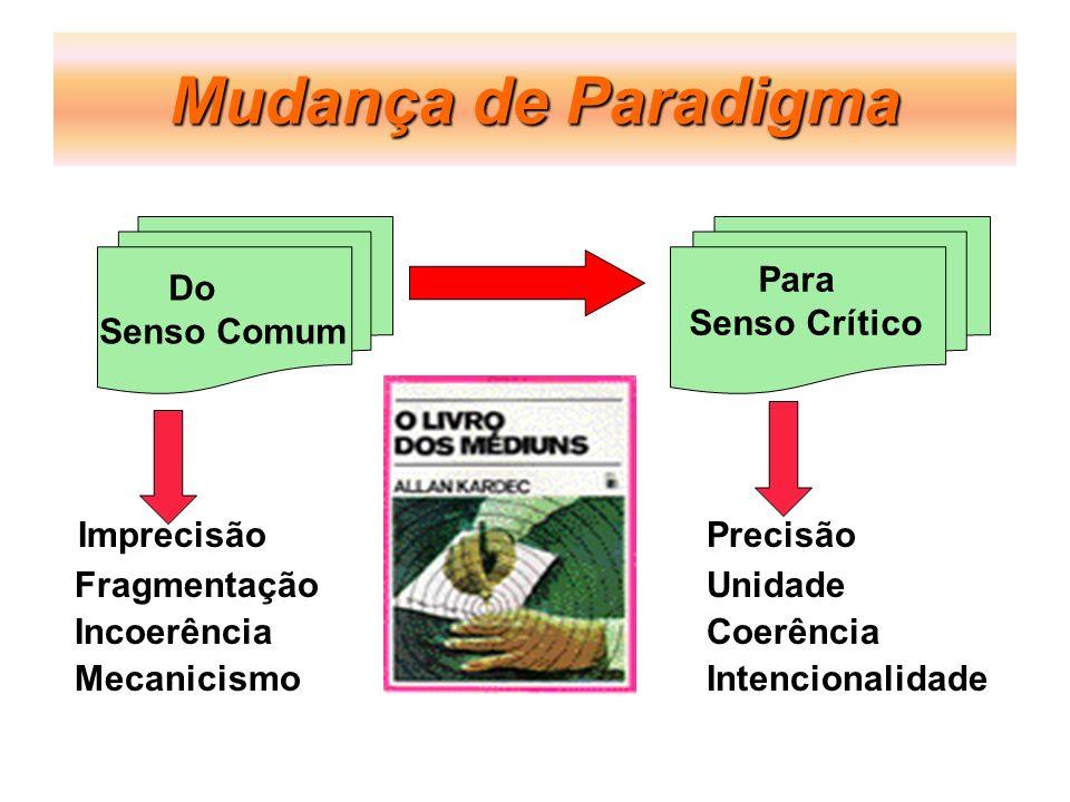 Mudança de Paradigma Imprecisão Precisão Para Do Senso Crítico