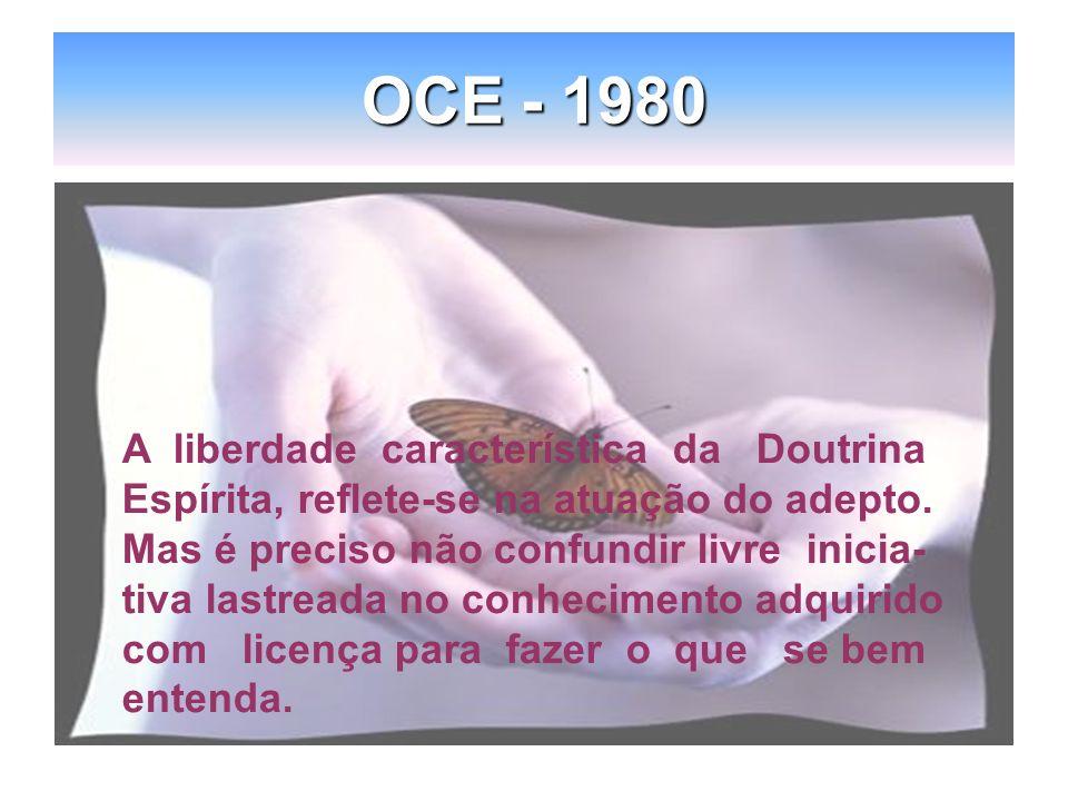OCE - 1980 A liberdade característica da Doutrina
