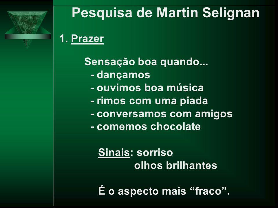 Pesquisa de Martin Selignan