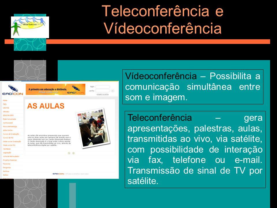 Teleconferência e Vídeoconferência
