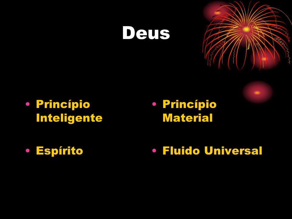 Deus Princípio Inteligente Espírito Princípio Material