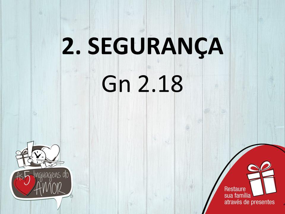 2. SEGURANÇA Gn 2.18