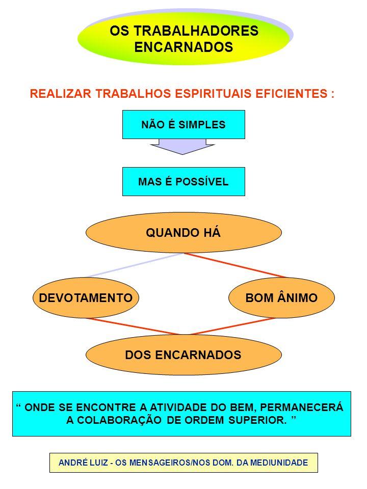 OS TRABALHADORES ENCARNADOS