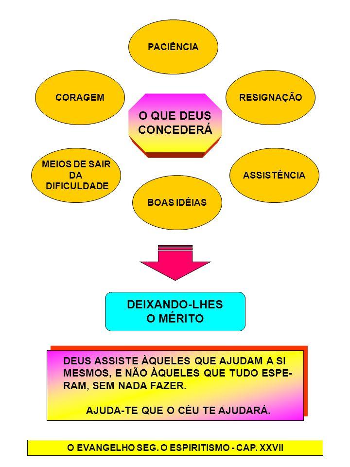 O EVANGELHO SEG. O ESPIRITISMO - CAP. XXVII