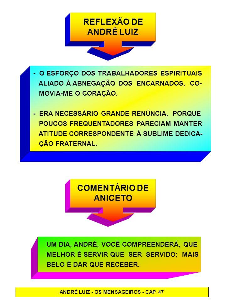 ANDRÉ LUIZ - OS MENSAGEIROS - CAP. 47