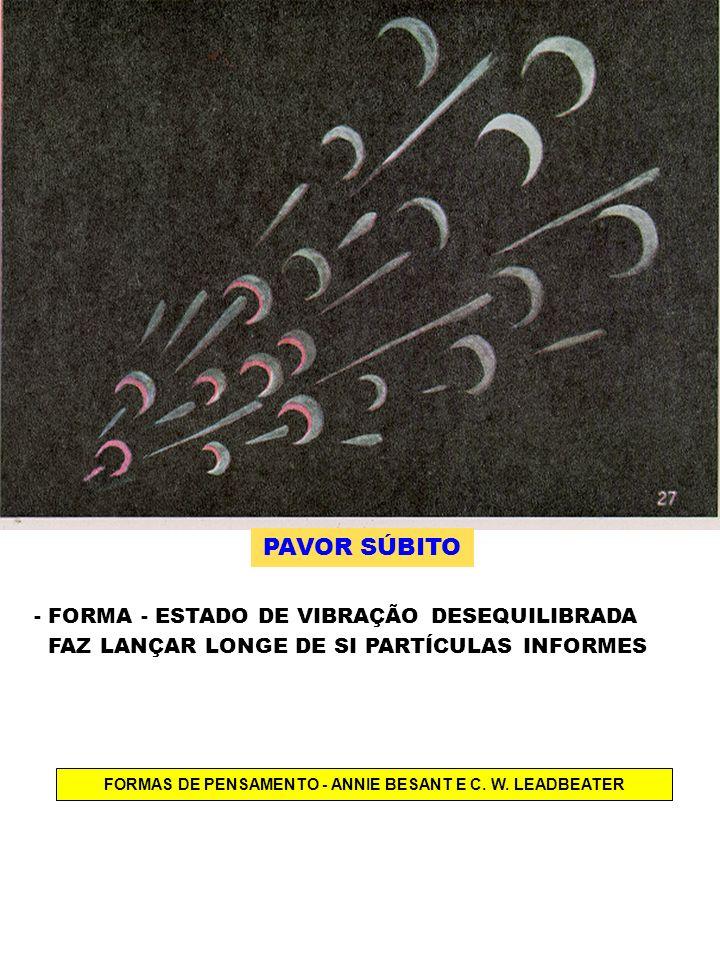 FORMAS DE PENSAMENTO - ANNIE BESANT E C. W. LEADBEATER