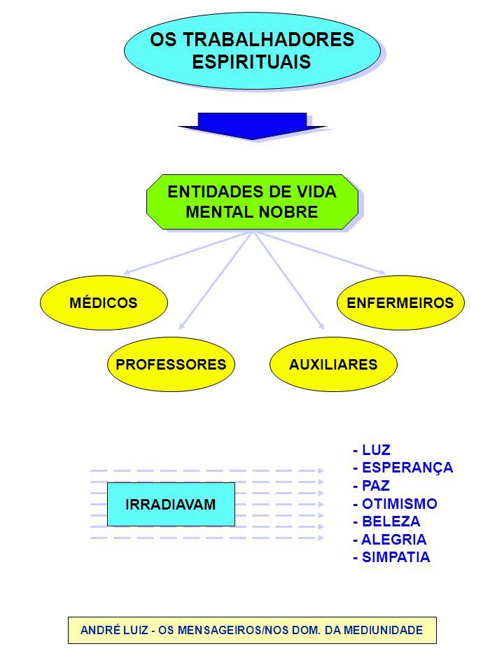 ANDRÉ LUIZ - OS MENSAGEIROS/NOS DOM. DA MEDIUNIDADE