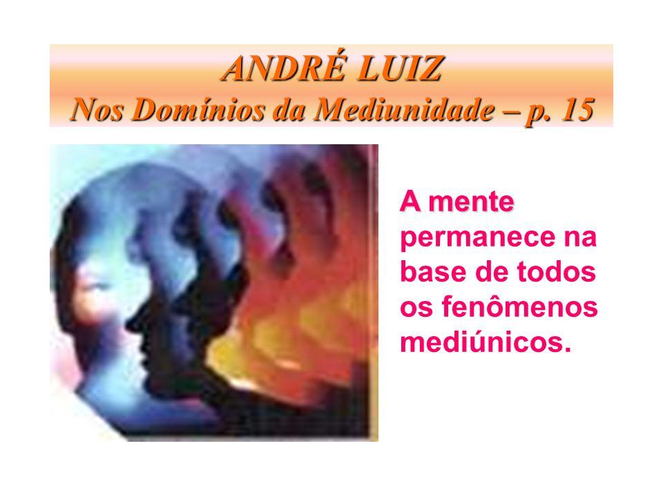 ANDRÉ LUIZ Nos Domínios da Mediunidade – p. 15