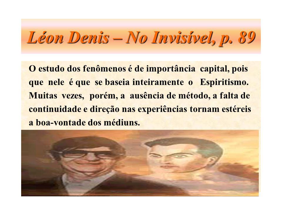 Léon Denis – No Invisível, p. 89
