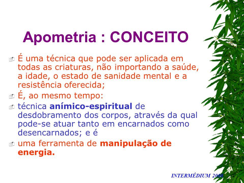 Apometria : CONCEITO