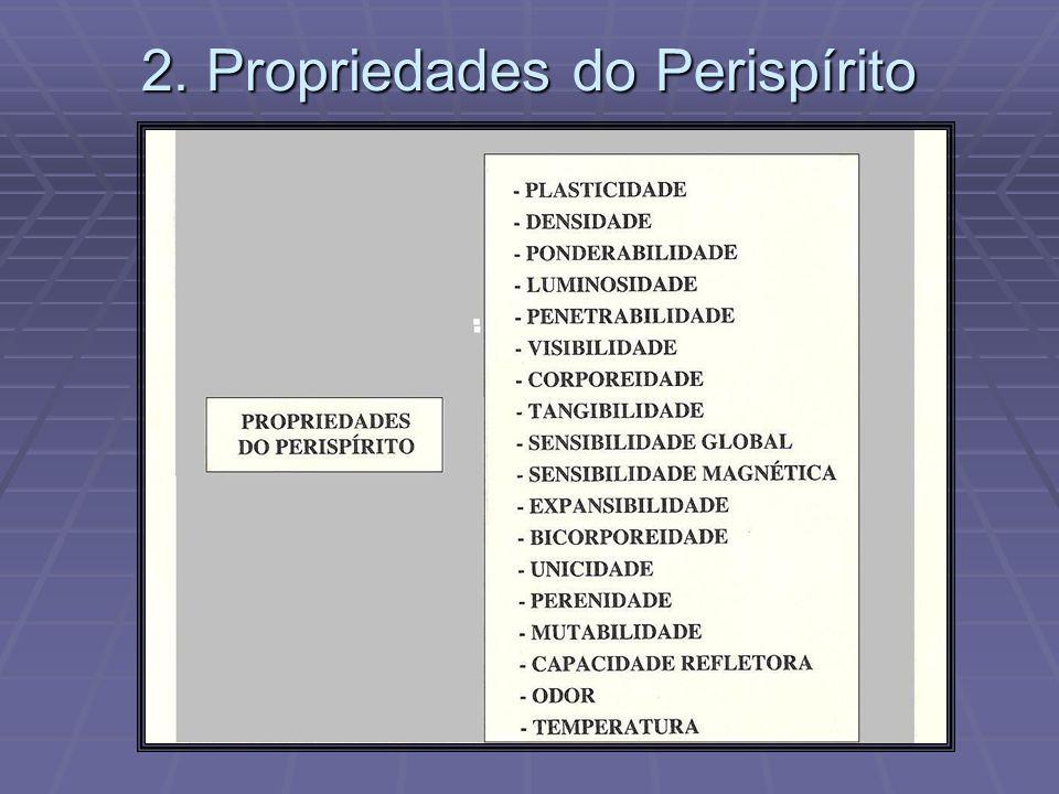 2. Propriedades do Perispírito