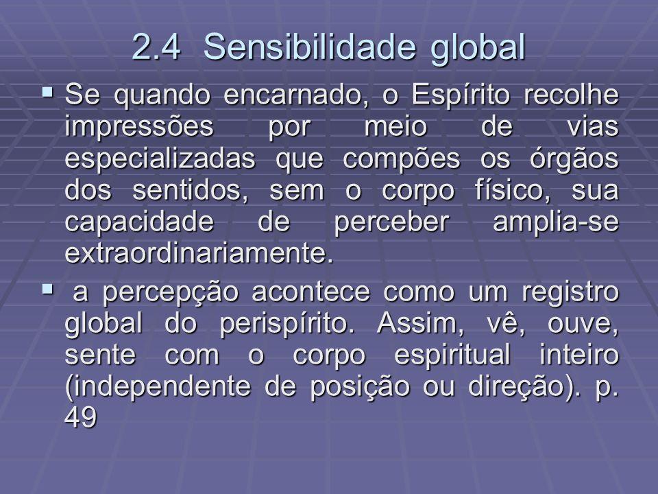 2.4 Sensibilidade global