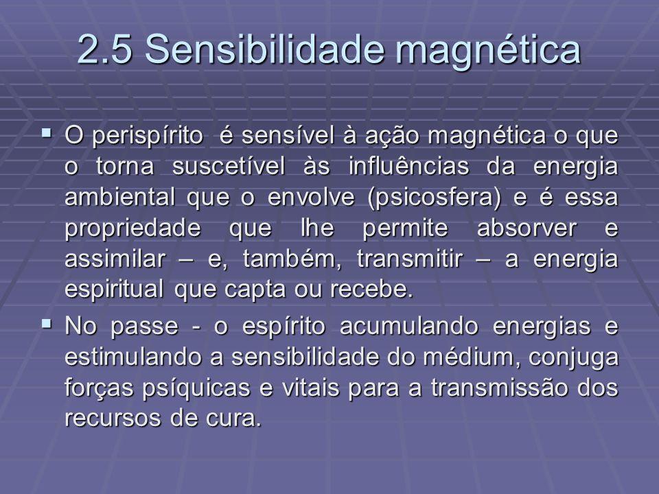 2.5 Sensibilidade magnética