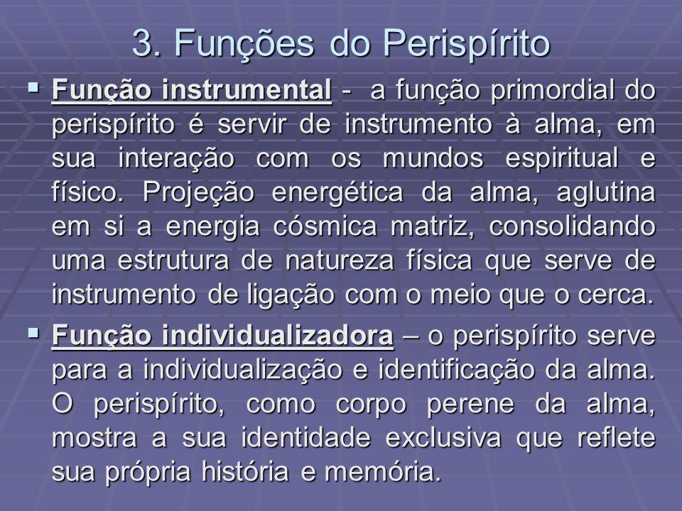 3. Funções do Perispírito