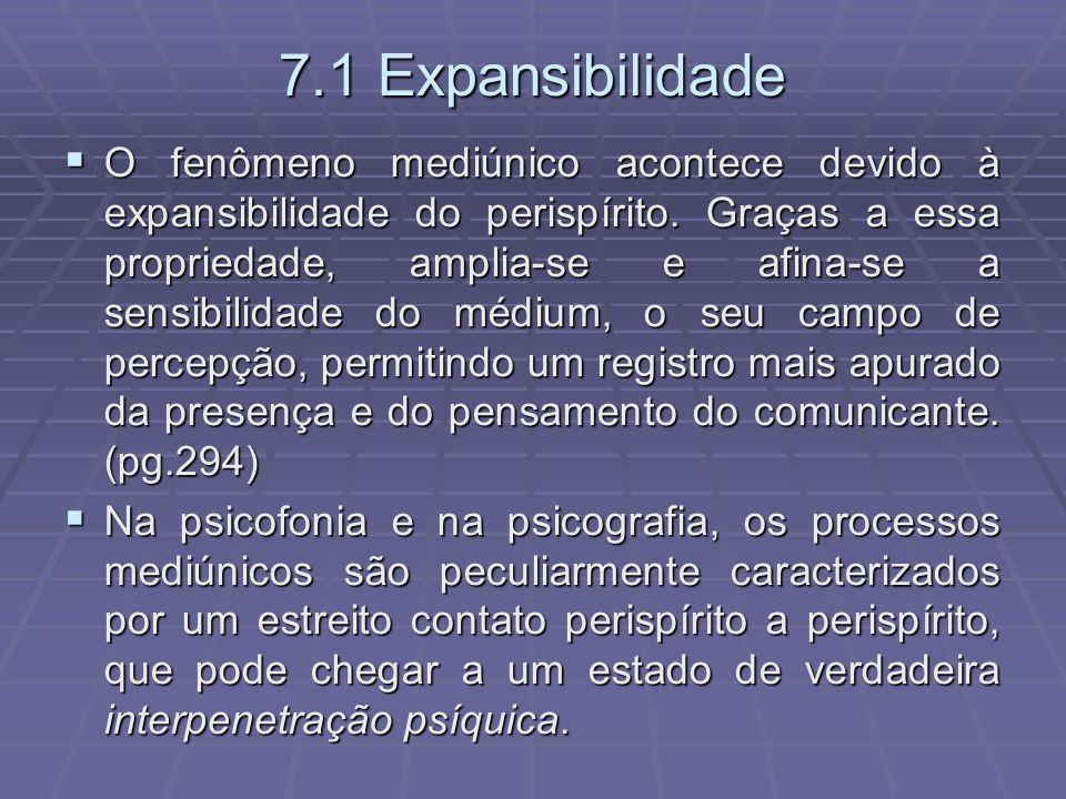 7.1 Expansibilidade