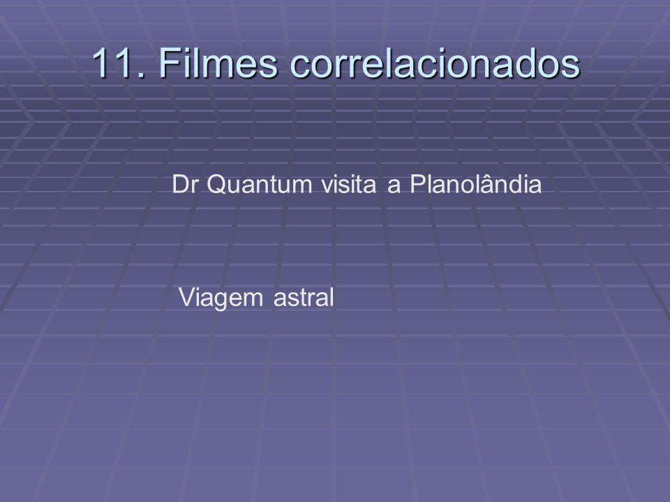 11. Filmes correlacionados