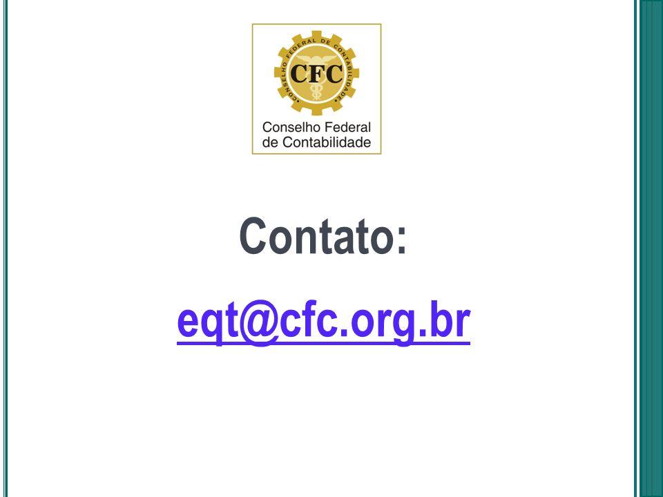 Contato: eqt@cfc.org.br