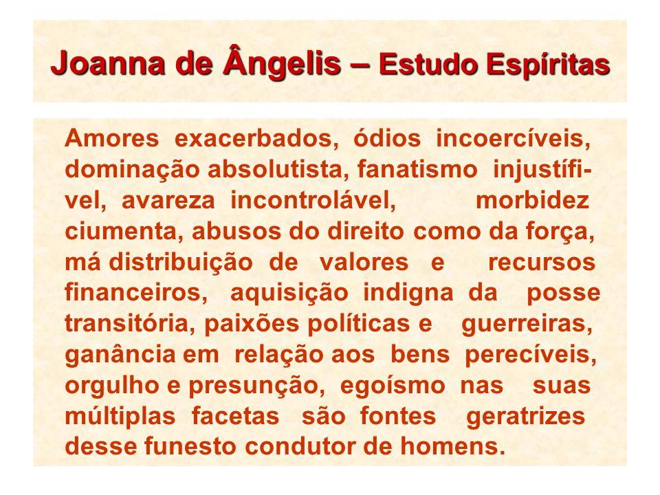 Joanna de Ângelis – Estudo Espíritas
