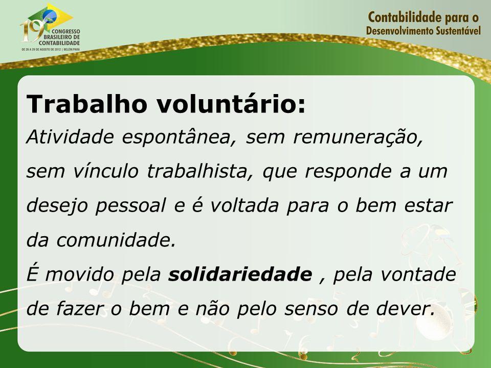 Trabalho voluntário: