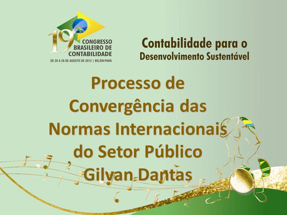 Processo de Convergência das Normas Internacionais do Setor Público