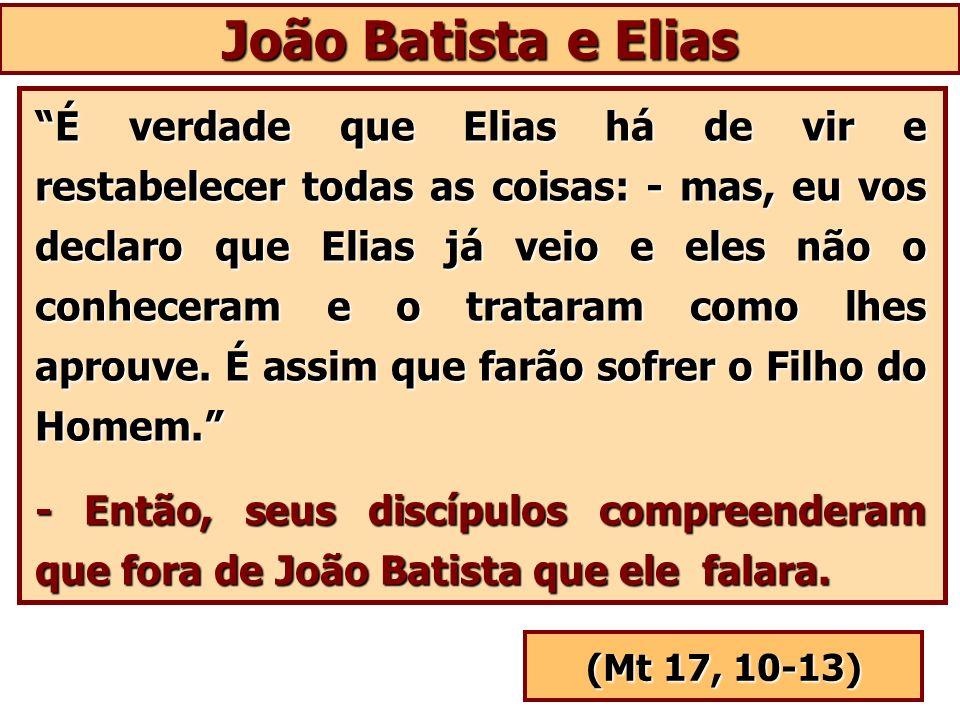 João Batista e Elias