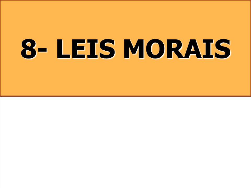 8- LEIS MORAIS