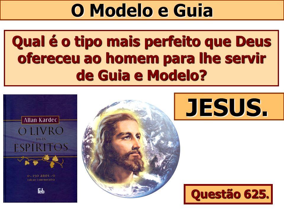 O Modelo e Guia Qual é o tipo mais perfeito que Deus ofereceu ao homem para lhe servir de Guia e Modelo