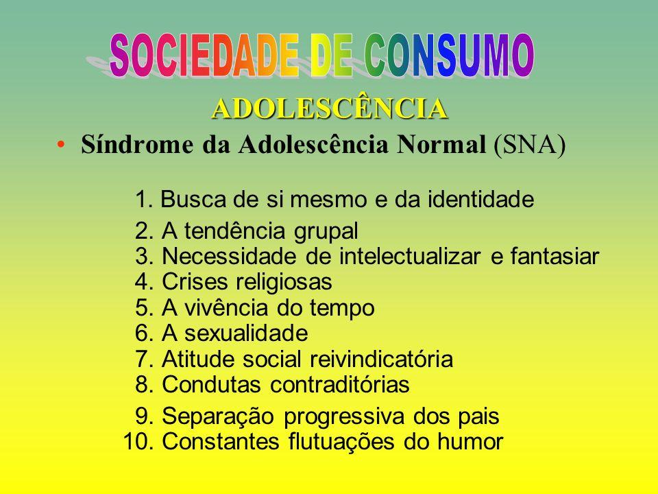 SOCIEDADE DE CONSUMO ADOLESCÊNCIA
