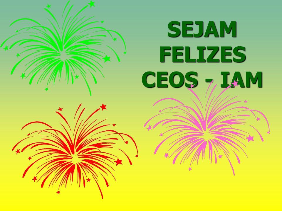 SEJAM FELIZES CEOS - IAM