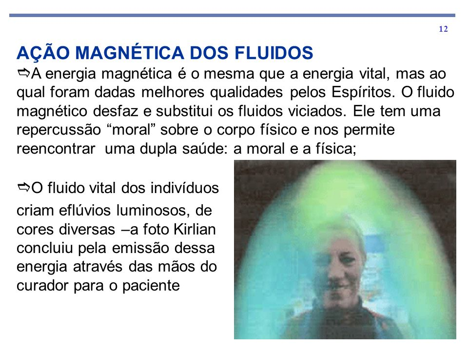 AÇÃO MAGNÉTICA DOS FLUIDOS