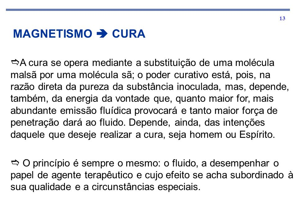 MAGNETISMO  CURA