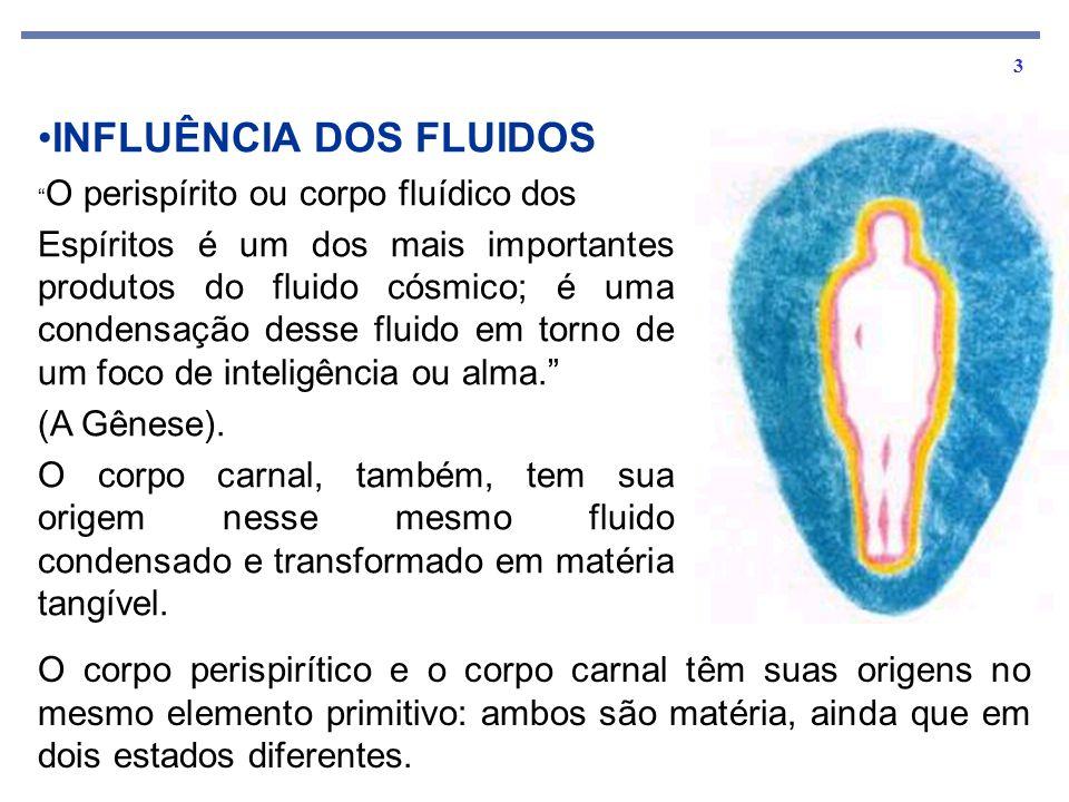 INFLUÊNCIA DOS FLUIDOS