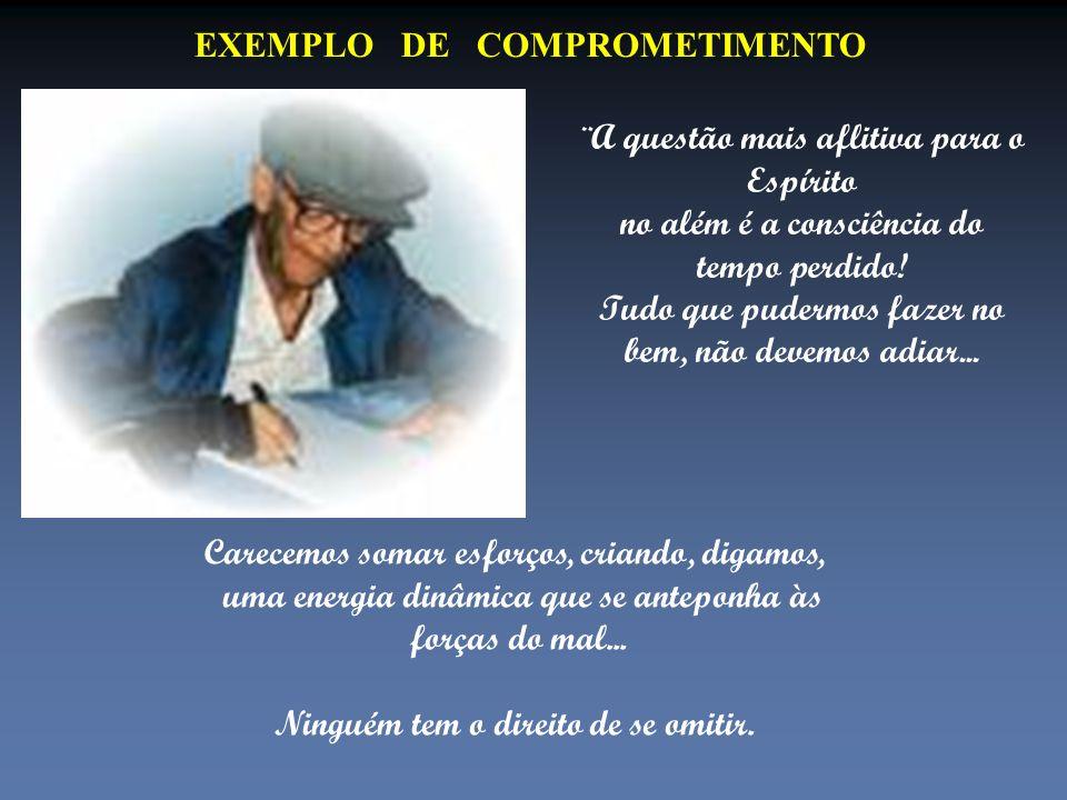EXEMPLO DE COMPROMETIMENTO