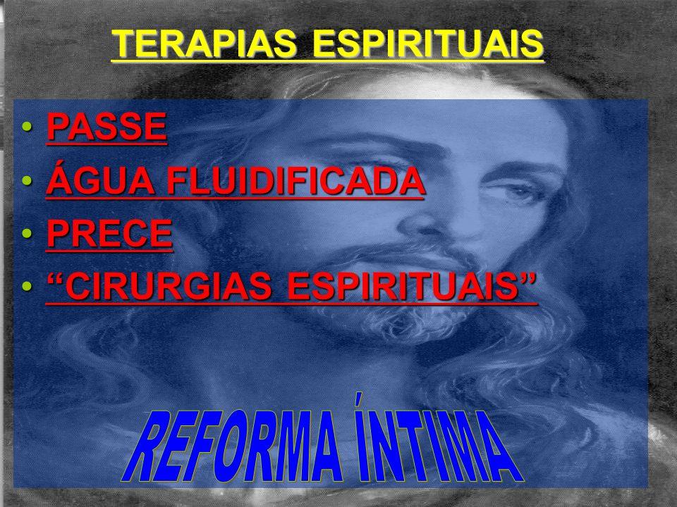 CIRURGIAS ESPIRITUAIS