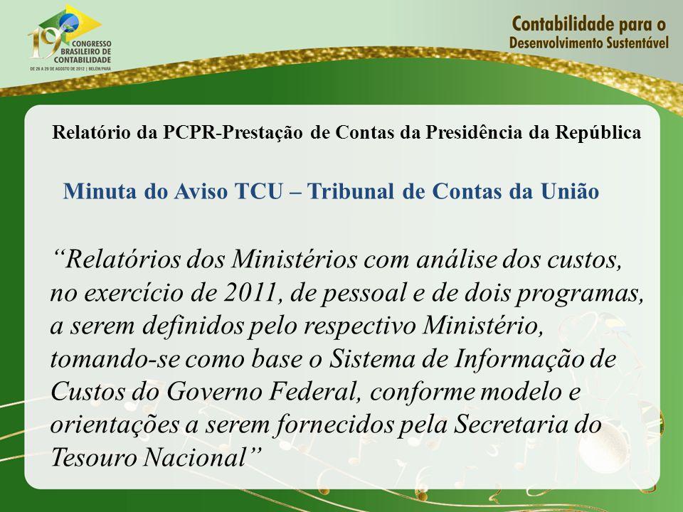 Relatório da PCPR-Prestação de Contas da Presidência da República