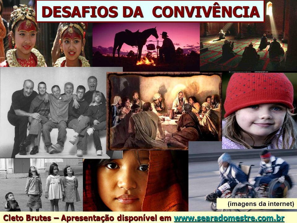 DESAFIOS DA CONVIVÊNCIA