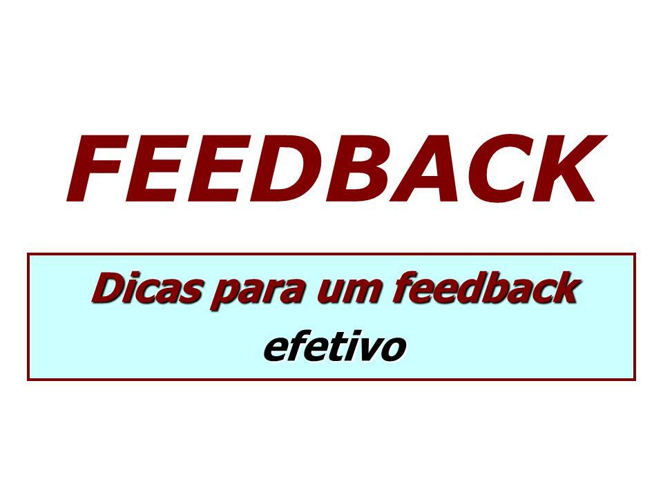 Dicas para um feedback efetivo