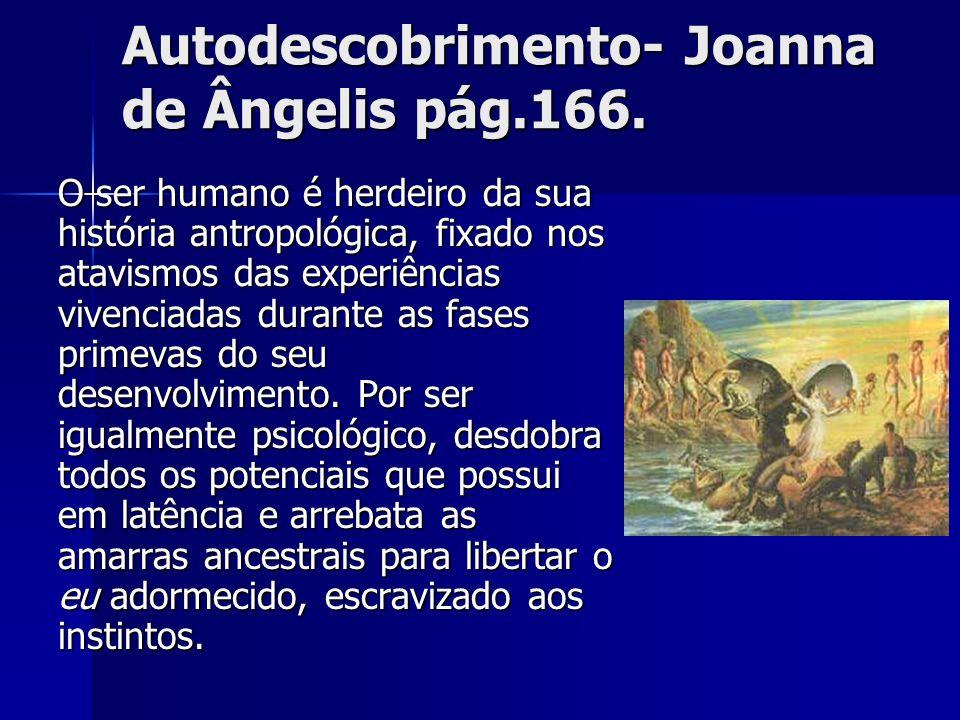 Autodescobrimento- Joanna de Ângelis pág.166.
