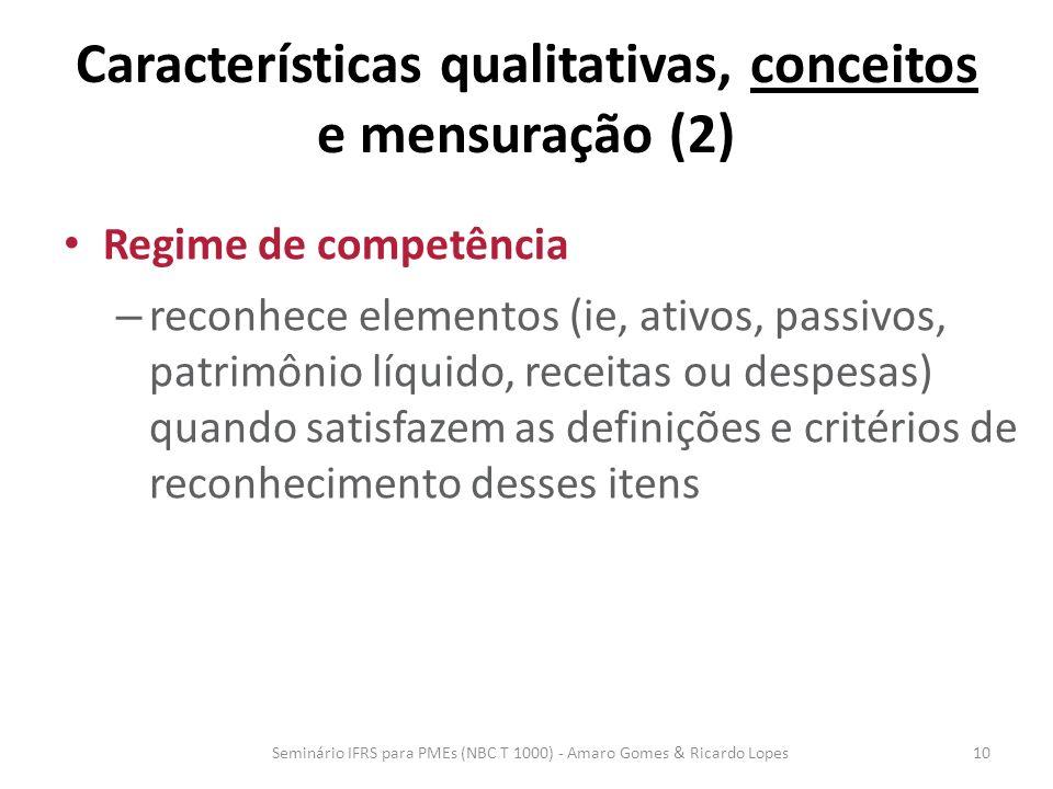 Características qualitativas, conceitos e mensuração (2)