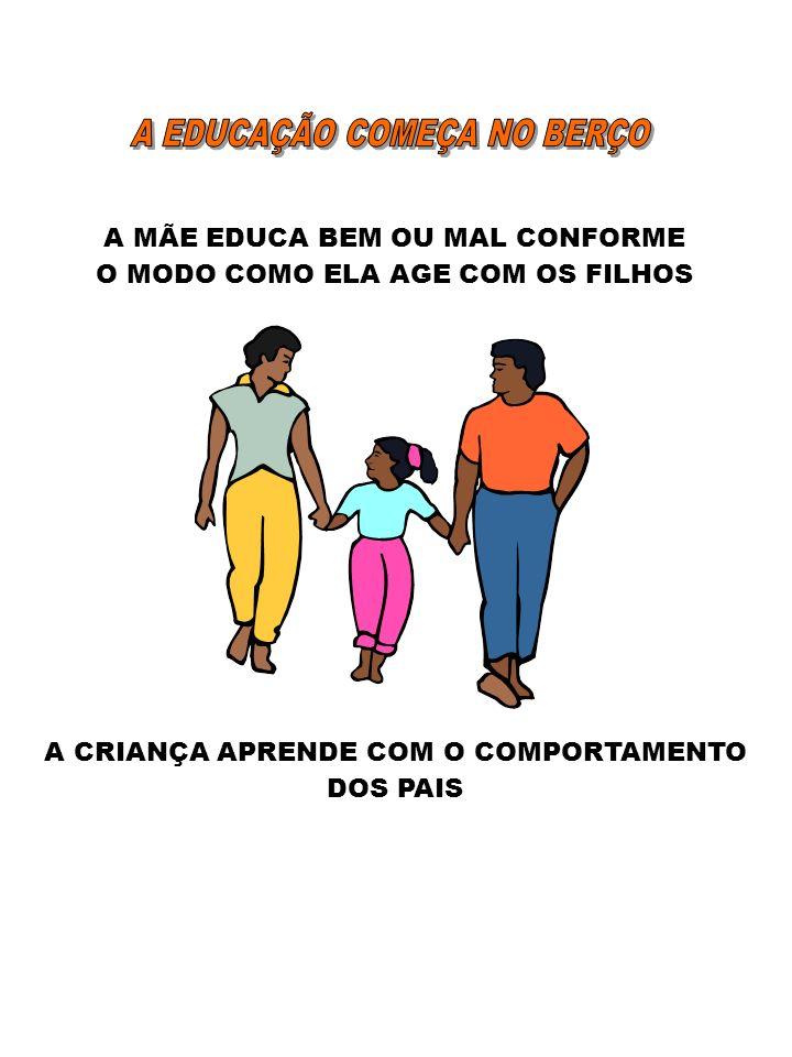 A EDUCAÇÃO COMEÇA NO BERÇO