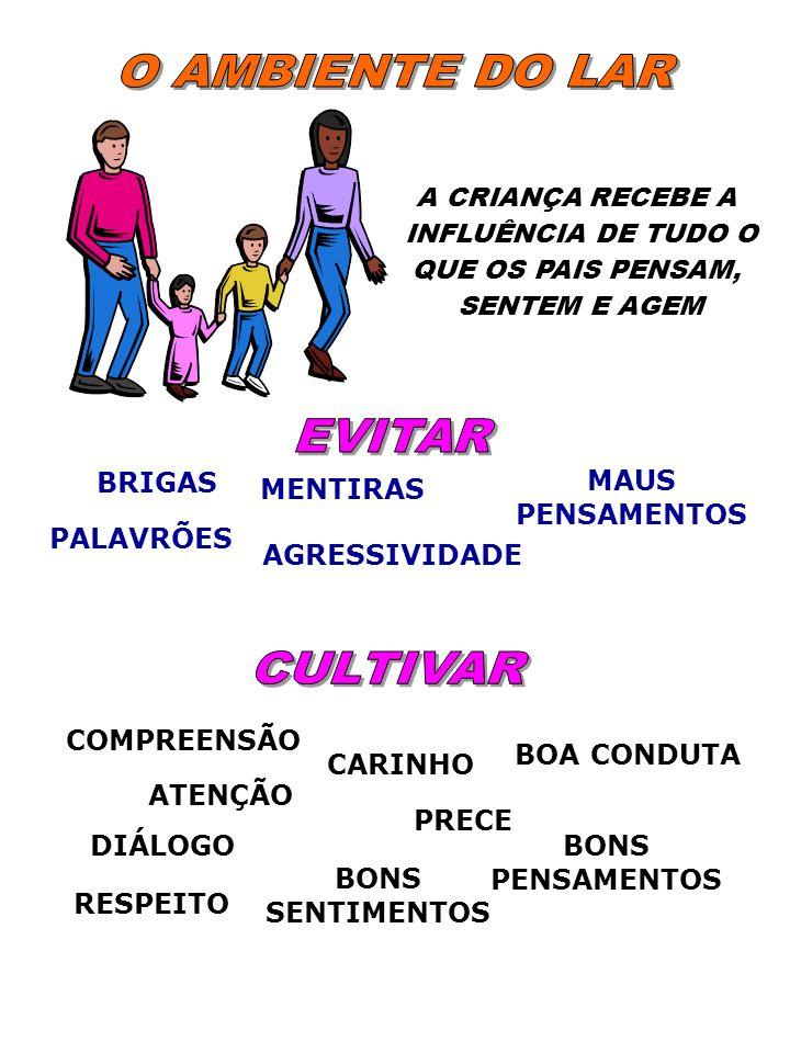 O AMBIENTE DO LAR EVITAR CULTIVAR