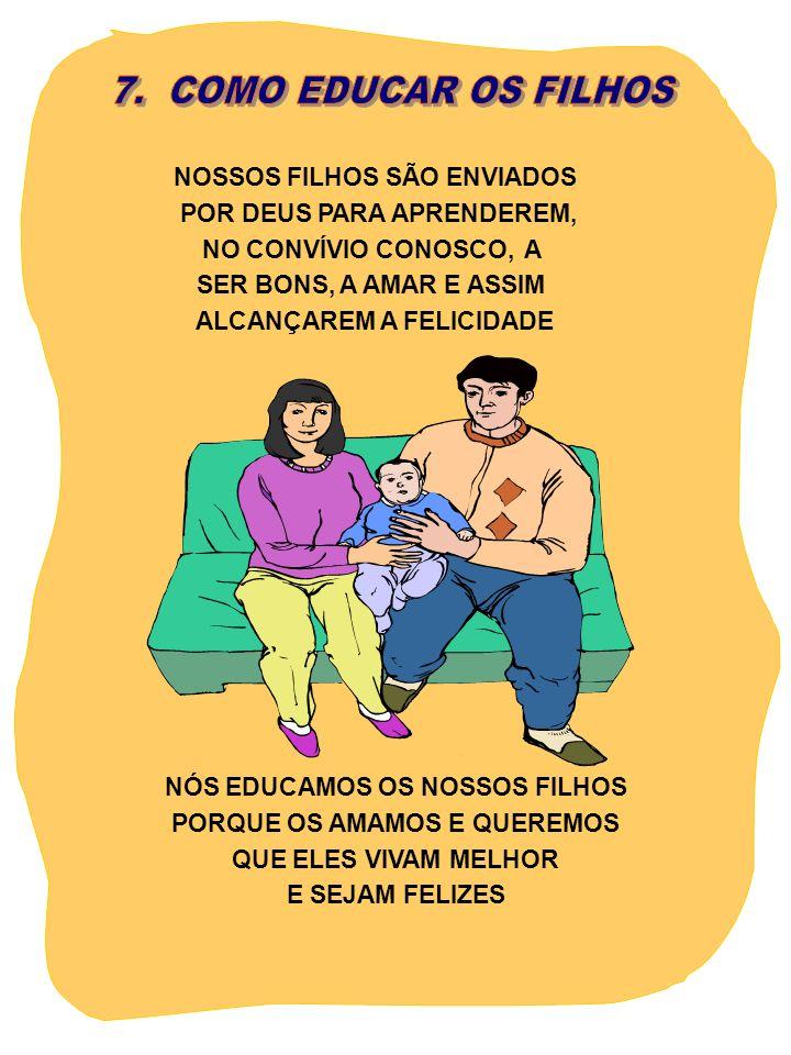 7. COMO EDUCAR OS FILHOS NOSSOS FILHOS SÃO ENVIADOS
