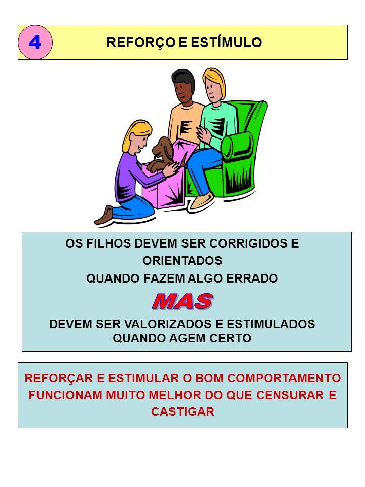 MAS 4 REFORÇO E ESTÍMULO OS FILHOS DEVEM SER CORRIGIDOS E ORIENTADOS
